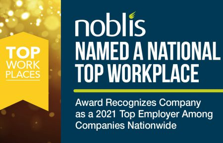 Noblis Recognized on the 2021 National Top Workplaces List