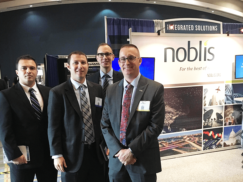 noblis at insa conference booth